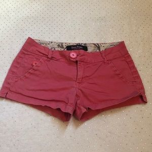 Freestyle Revolution - Coral/Pink Shorts -Size 5
